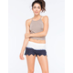 PATRONS OF PEACE Lace Ombre Womens Shorts
