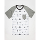 HURLEY Nautical Mens Pocket Tee