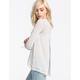 BLU PEPPER Open Back Sweater