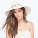 Woven Womens Floppy Hat