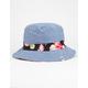 Hawaiian Reversible Mens Bucket Hat