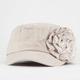 Herringbone Womens Military Hat