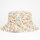 Floral Womens Reversible Bucket Hat