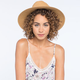 Womens Straw Panama Hat