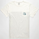QUIKSILVER Cannon Fire Mens Pocket Tee
