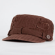 Textured Patch Womens Military Hat