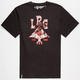 LRG Everywhere Lock Up Mens T-Shirt