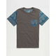 BLUE CROWN Ancient Forms Boys Pocket Tee