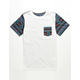 BLUE CROWN New Tribe Boys Pocket Tee
