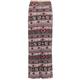 FULL TILT Diamond Floral Stripe Girls Maxi Skirt
