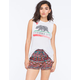 BEBOP Ethnic Print Womens Shorts