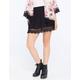 FULL TILT Crochet Hem Skirt