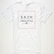 KR3W Original Box Mens T-Shirt