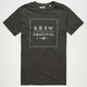 KR3W Original Box Mens T-Shirt