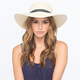 Ethnic Band  Floppy Hat