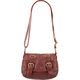Washed Buckle Crossbody Bag