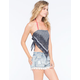 VANILLA STAR Bandana Womens Halter Top