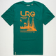 LRG Climbthegate Mens T-Shirt