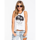 YOUNG & RECKLESS City of Palms Womens Muscle Tank