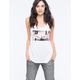 YOUNG & RECKLESS Knuckle Salute Womens Tank