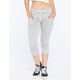 FULL TILT Womens French Terry Cropped Jogger Pants