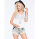 FULL TILT Embroidered Front Womens Tank