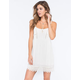 SOCIALITE Lace Trim Dress