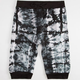 UNCLE RALPH Tie Dye Mens French Terry Jogger Shorts