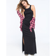 FULL TILT Racerback Womens Ribbed Maxi Dress