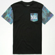 YOUNG & RECKLESS Oil Slick Mens Pocket Tee