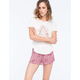 FULL TILT Paisley Ruffle Womens Shorts