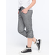 FULL TILT Marled French Terry Womens Cropped Jogger Pants