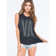 RVCA Big VA Womens Muscle Tank