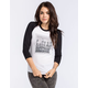YOUNG & RECKLESS Number 86 Womens Baseball Tee