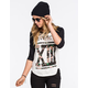 LIRA Thirteen Womens Baseball Tee