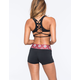 FULL TILT SPORT Lattice Back Sports Bra