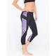 FULL TILT SPORT Stripe Side Womens Capri Leggings