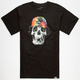 ROOK Bucket Skull Mens T-Shirt