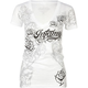INFAMOUS Love Skull Womens Tee