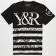 YOUNG & RECKLESS Trade Stripes Mens T-Shirt