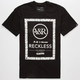 YOUNG & RECKLESS Domino Effect Frame Mens T-Shirt