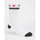BLACK SCALE Star Of Blvck Mens Crew Socks