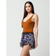 FREE PEOPLE Printed Romance Womens Shorts