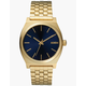 NIXON Time Teller Gold & Blue Watch