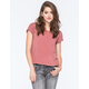 FULL TILT Essential Womens Easy Tee