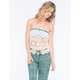 ANNA SUI for O'NEILL Drifter Womens Tube Top