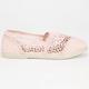 SODA Girls Crochet Stretch Slip-On Shoes
