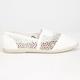 SODA Womens Crochet Stretch Slip-On Shoes