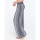 FULL TILT Ethnic Print Womens Palazzo Pants
