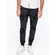 CRASH Bandana Print Mens Cargo Jogger Pants
